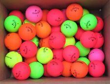 New listing 40 AAAA / AAA Callaway Superhot & Supersoft Matte Golf Balls - Assorted Colors