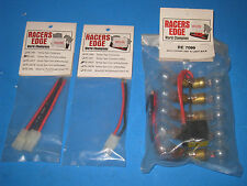 3 NEW Racers Edge  RE2481F RE2481 RE7099  Wire Adapter Tamiya Style  21G3