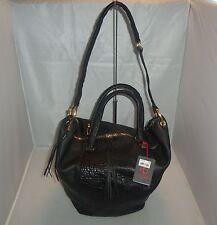 Kelsi Dagger Handbag Caroline Mix-Leather Trapezoid Tote, Shoulder Bag, $328