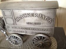 Borden Foods Horse & Buggy Metal Signed Jack FW & Louis Ruckheim Limited Edition