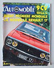L AUTOMOBILE - SPORT MECANIQUE - MENSUEL N° 303 - AOUT 1971 *
