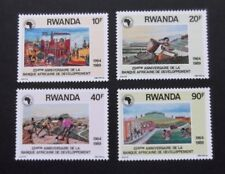 Rwanda-1990-African Development Bank set-MNH