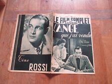 REVUE LE FILM COMPLET DU SAMEDI 2215 1939 L ANGE QUE J AI VENDU charpin