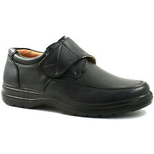 Clearance Mens Black Velcro Fastening Casual Shoe Sizes 6 to 12 REDUCED UK 8