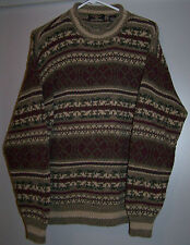 American Eagle Outfitters Olive Green and Wine Colored Sweater