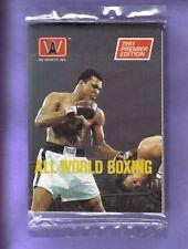 1991 All World Boxing Pack Fresh From Box Mohammed ALI!
