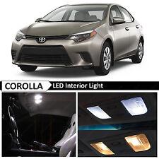 White Interior LED Package Light Kit for 2000-2016 Toyota Corolla