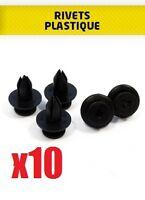 10x RIVETS PLASTIQUES ø 6,6mm