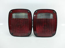 NOS Wrangler CJ YJ TJ Rear Brake Tail Lights Jeep Tailler Rubicon RL NOS Defect
