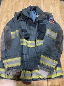 Globe Firefighter Jacket Turnout Coat 42 32 GX-7 W Removable Liner 2003