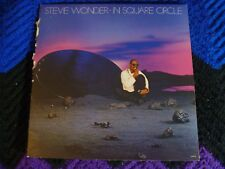 Stevie Wonder,  In Square Circle,  { VG++}  > Includes  Booklet with lyrics <