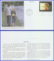 US #3556 U/A MYSTIC FDC   Mentoring a Child