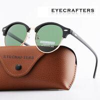 Fashion Vintage Outdoor Shades Women Mens Retro Round Polarized Sunglasses 1