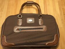 Ricardo Beverly Hills Brown Duffel Travel Bag Carry On Overnight Tote Luggage