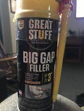 1 Can Great Stuff Big Gap Filler Natural Foam Insulating Sealant 12 Oz