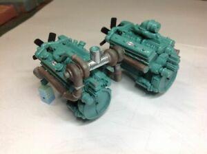 AUSLOWE   V12 DETROIT ENGINE  W / 2 OPTIONS TURBO OR NON