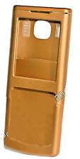 Cover Gehäuse Schale Oberschale Akkudeckel für Nokia 6500 Classic Farbe: Gold
