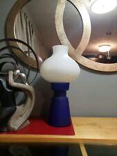 Mid Century Modern Murano Glass Lamp Mushroom Italian Rosenthal Contemporary