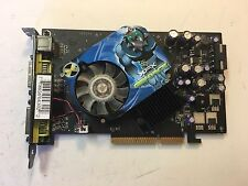XFX Nvidia GeForce 7600 GS AGP 4X/8X 256MB DDR3 Graphics Card Dual DVI S-Video