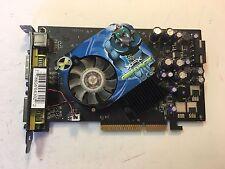 XFX Nvidia GeForce 7600 GS AGP 4X/8X 256MB DDR3 Grafikkarte Dual DVI S-Video