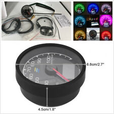 "2.5"" 7 Colors Water Temperature With Voltage Meter Fit 4/6/8 Cylinder Engine Car"