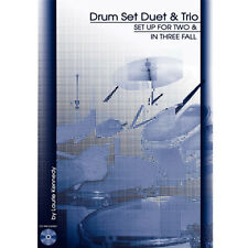 Drum Set Duet and Trio Book CD Laurie Kennedy