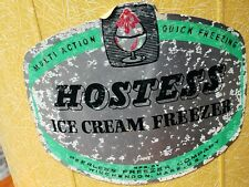 Vtg Peerless Hostess Homemade Ice Cream Freezer Maker Hand Crank Original Box
