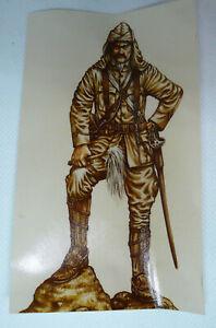 Signature Miniatures 90MM British Lancer Major Sudan, White Metal    EW-MM