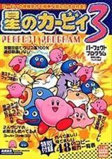 Kirby's Dream Land 3 Perfect program book / SNES