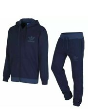 Men Original Adidas Tracksuit In Navy, Size XL (would Fit UK L)