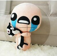 35CM The Binding of Isaac Soft Plush Toy Doll ISSAC with Cat Gift
