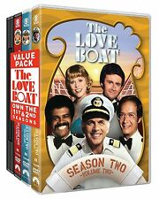 The Love Boat First Second Season 1 2 DVD Set Series Episode Show One Two TV All