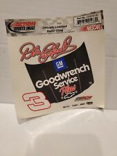 Vintage Action Sports Image Dale Earnhardt #3 Goodwrench Static Cling Decal NEW