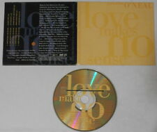 Alexander O'Neal - Love Makes No Sense mixes  U.S. promo cd -  scarce!