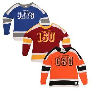 PINK VICTORIA'S SECRET Collegiate Collection Jersey Sport Athletic Sweatshirt
