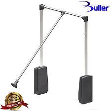 Lift / Pull Down Wardrobe Rail 600-830mm Clothes Hanger that pulls down. 12kg