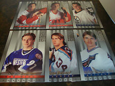 1997-98 Studio Hockey--Portraits--Lot Of 6--All 8x10's--#6-10-16-21-24-32---NrMt