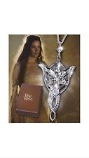 LOTR Arwen Evenstar Pendant Sterling Silver Noble Collection Necklace NV2770