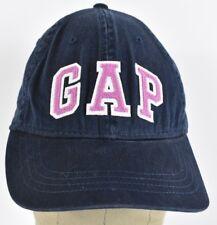 Navy Blue Gap Brand Co Logo Girls Embroidered Baseball hat cap Adjustable Strap