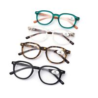 Spring Hinges Reading Glasses Rectangle Readers Fashion 1.0 1.5 2.0 2.5 3.0 3.5