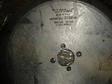 LAME CARBURE D.350 MM 84 DENTS AL.40 MM SPECIALE ALU ; PVC  NEUVE