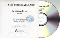 Grand Corps Malade Je Viens De La CD PROMO pochette papier
