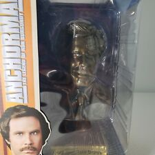 """2013 Ron Burgundy Anchorman 7"""" Collector Series Bust Will Ferrell The Legend"""