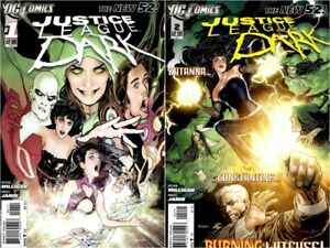 JUSTICE LEAGUE DARK 1 2 Comics 1st Appearance Of Movie TV Cartoon Zatanna Horror