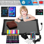 Sensory LED Writing Board Light up Kids Pen Toys for Special need, Autism, ADHD
