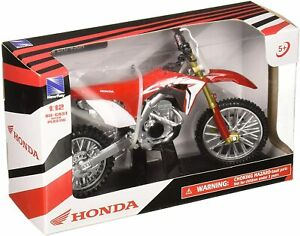 1:12 Honda CRF450R Red Diecast Model Motorcycle NewRay #SS-44091 Dirt Bike