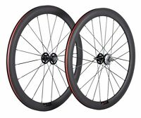 700C Carbon Wheelset  50mm  Fixed Gear Wheels Track Single Bicycle Carbon Wheels