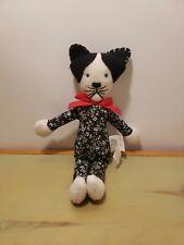 "North American Bear Company Calico Cat Rattle Plush 1480 Stuffed Animal Toy 9.5"""