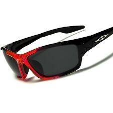 Athletic Baseball Golf Cycling Running Black & Red Polarized Sport Sunglasses