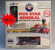 LIONEL FIVE STAR GENERAL LOCOMOTIVE BLUETOOTH TRAIN SET O GAUGE 6-82442 NEW